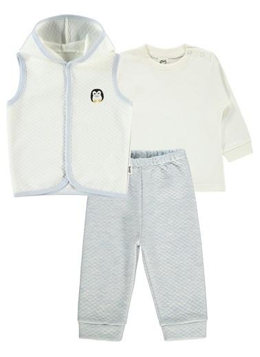 Civil Baby Civil Baby Erkek Bebek Yelekli Takim 6-18 Ay Mavi Civil Baby Erkek Bebek Yelekli Takim 6-18 Ay Mavi Mavi